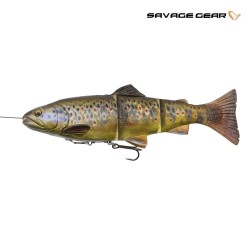 4 D trout dark brown