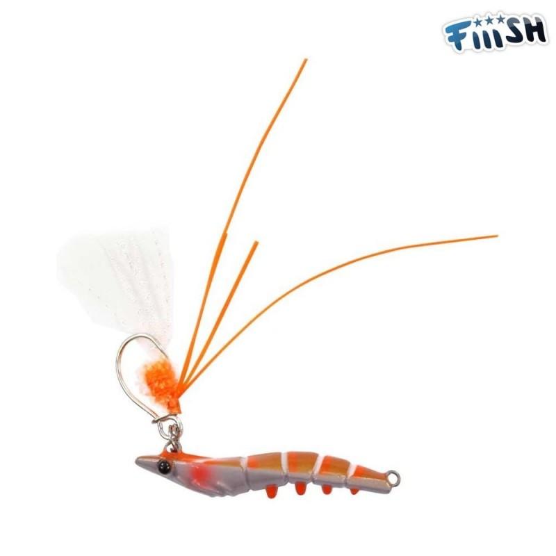 Candy shrimp orange