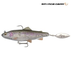 4D trout spin shad rainbow