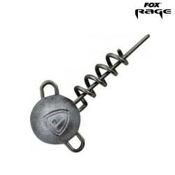 Corkscrew Round Jig Fox rage