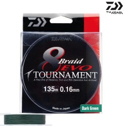 Tresse Tournament 8 braid...