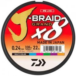 Tresse J-Braid Grand x8...
